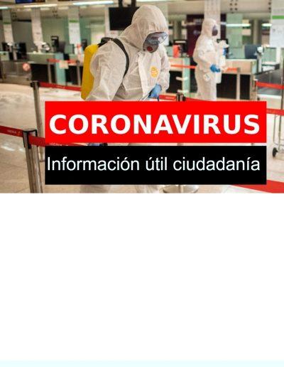 Noticias acerca Coronavirus